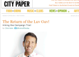 The Return of the Luv Guv! - Features - Charleston City Paper